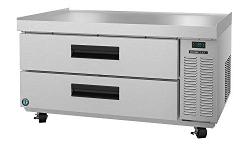 Hoshizaki CRES49, Refrigerator, Single Section Equipment Stand Prep Table, Stainless Drawers