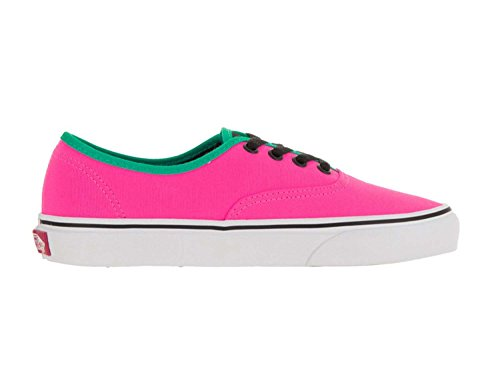 Authentic Brite Neon Black Pink Vans Women's Y74xSS