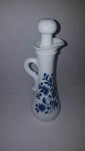 Avon Milk Glass Cruet Pitcher and stopper