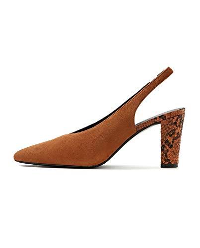 Damen Mango Shoes Leather 33000687 Slingback rrwfda