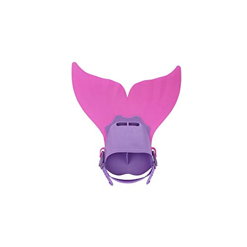 Kids Topside Snorkel Fins Swimming Costume Mermaid Tail Mono Fin Flippers Snorkeling Flippers for Training Diving…