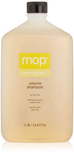 (MOP Lemongrass Volume Shampoo, Citrus, 33.8 Fl Oz)