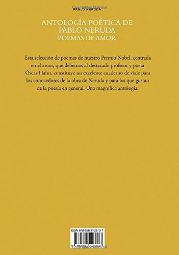 Antología Poética De Pablo Neruda Poemas De Amor Selección