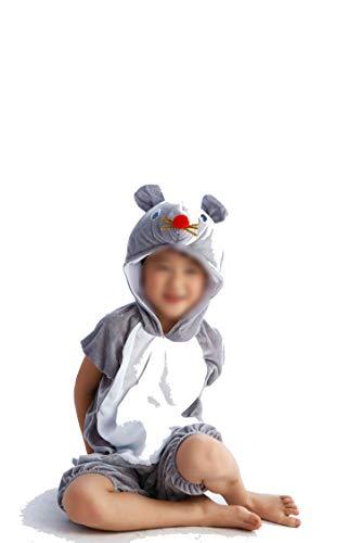 Children's Animal Clothing Halloween Cosplay Jumpsuitstage Costumes,Squirrel,130cm -