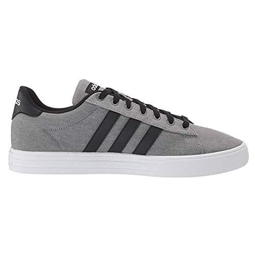 adidas Men's Daily 2.0 Sneaker, Grey/Black/White, 10.5 M US