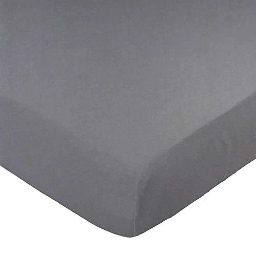- SheetWorld Value Fitted Sheet, Dark Grey, 100% Cotton Jersey, Fits BabyBjorn Travel Crib Light Mattress 24 x 42