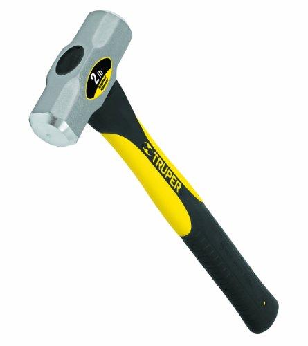 Truper 32686 2-Pound Engineer Hammer, Fiberglass Handle, 16-Inch by Truper