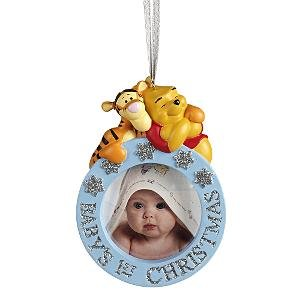 Tigger Christmas Ornaments.Amazon Com Disney Pooh And Tigger Baby S 1st Christmas