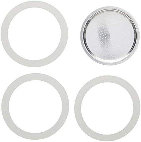 Bialetti - Repuesto de junta de goma para filtro de cafetera, 9 tazas, moka: Amazon.es: Hogar