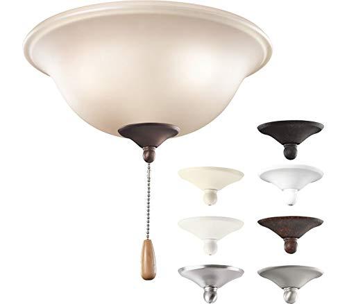 Kichler 338508MUL Accessory Bowl 3 Light, Multiple ()