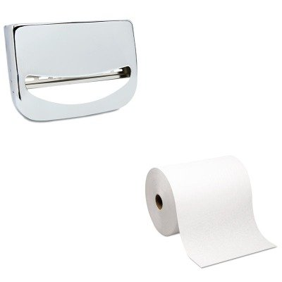 KITBWKKD200GEP26470 - Value Kit - Georgia Pacific Hardwound Roll Paper Towel (GEP26470) and Stainless Steel Toilet Seat Cover Dispenser (BWKKD200) by Georgia-Pacific