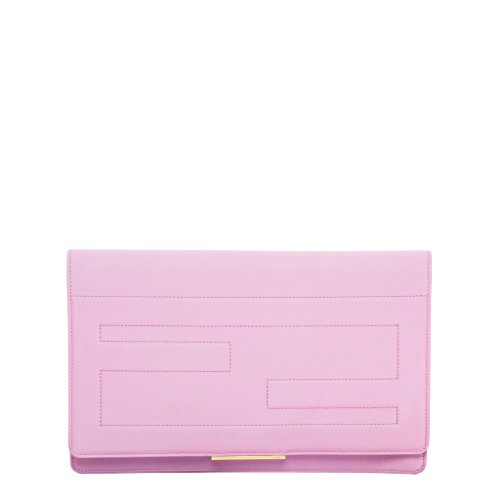 Fendi Women's Tube Macro Clutch Pink