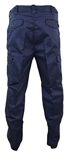 Verdi Lavoro Uomo Cargo Militare O Stile Marino Da Neri Blu Pantaloni Per tpwqYY