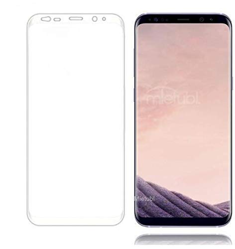 Transparent silk-screen Full Cover Tempered Glass Screen Protector for  Samsung S9