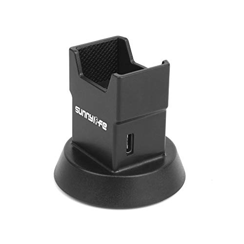 (TANGON OSMO Pocket Desktop Charger Stand Tripod Adapter for DJI OSMO Pocket Charging Base Module with 2 USB Port Gimbal Stabilizer Extension Accessories)