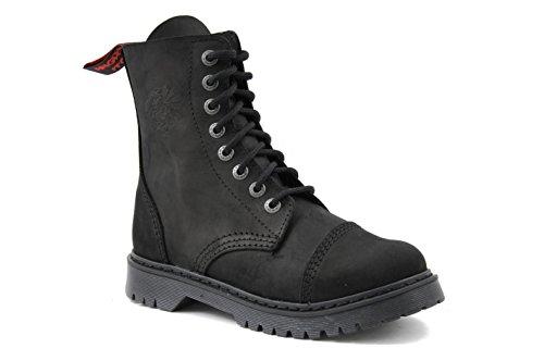 42 Eu 8 Stiefel Made Herrlich In Aus Weichem Eu Light 45 Leder Schwarzem Itch 36 Angry Vintage größe loch qZ1wCppU