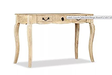 Amazoncom Console Table Rustic Wooden French Country Style - French country style console table