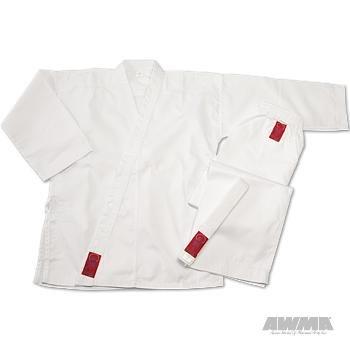 ProForce Gladiator 7.5 oz. Elastic Drawstring Medium Weight Uniform, White, 3 by Pro Force