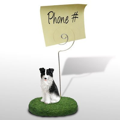 Border Collie Memo / Photo Holder ()
