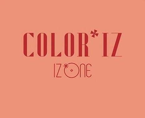 Amazon com : IZONE - [ColorIz] 1st Mini Album Random CD+Poster+Book+