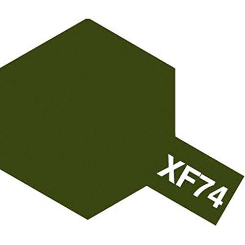 Tamiya Flat Acrylic Paint Mini 10ml Olive Drab (JGSDF) XF74