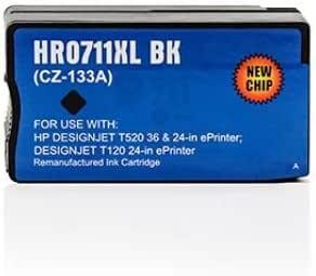 Cartucho de tinta Compatible para impresora Hp DesignJet T520-Series DesignJet T Series 520, color negro: Amazon.es: Oficina y papelería
