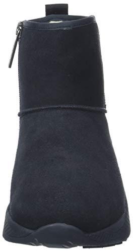 Boot Boot Midnight Arricciati 403 Bold Denim Donna Donna Stivali Hilfiger Hybrid Blu Branding wxg1qxIp
