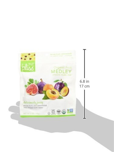 Fruit Bliss Organic Dried Fruit Medley, 5 oz, Pack of 6 by FRUIT BLISS (Image #4)