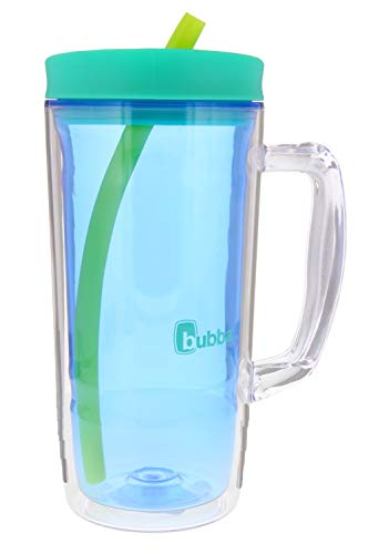 (Bubba Envy Travel Thermal Mug, 32oz - Double Wall Insulated With Straw and Handle- Keep All Your Favorite Cold Drinks at Your Side This Season - Sweat Proof, Ideal For Travel - Deep Sea Blue)