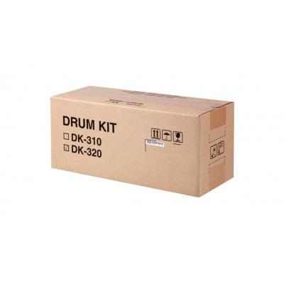 (Genuine Original Kyocera Mita FS -2020D Drum Kit Black DK-320)