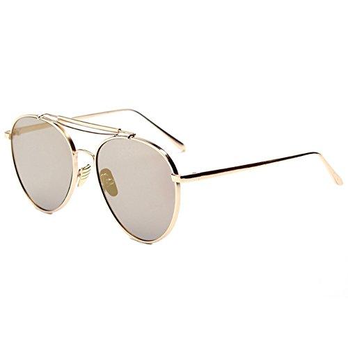 LENSTAR DSG800012C4 New Style PC Lens Metal Sunglasses,Metal Frames Non-Polarizer (Sonnenbrille John Lennon)