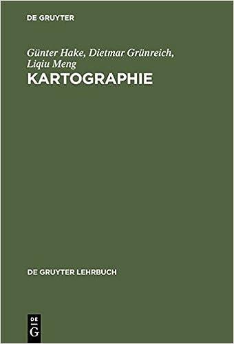 Kartographie (de Gruyter Lehrbuch)