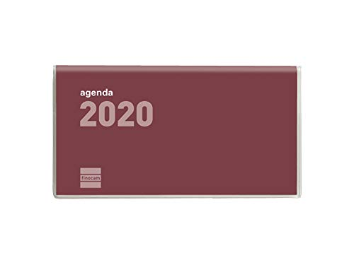 Amazon.com : Finocam - Agenda 2020 Week View Vertical Flat ...