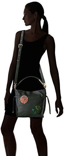 Patches Foley Faye Black Hobo Crossbody Corinna Drawstring rFgwqBzF