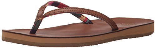 Freewaters Women's Charlie Flip Flop Sandal - Brown - 11 ...