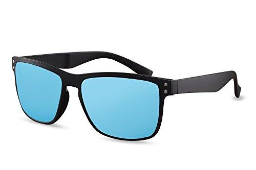 Cheapass Véritables Wayfarer Randonnée Hommes Outdoor Revo Lentilles soleil Mirrored 005 Bleu de 400 Ca UV Lunettes Mens Mirrored Sport e rq4rS