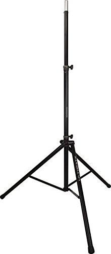 Ultimate Support TS-88B Original Series Aluminum Tripod Speaker Stand with Integrated Speaker Adapter and Extra Tall Height by Ultimate Support
