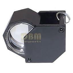 HEXA BLACK 18mm 10x Magnification Diamond Loupe Loop Magnifier Glass Jewelers