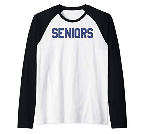 Dazed And Confused Seniors Class Chest Logo Raglan Baseball Tee