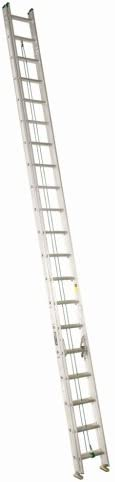 Louisville Ladder AE4240 225-Pound Duty Rating Aluminum Extension Ladder, 40-Foot