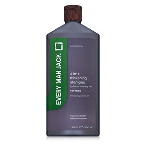 Every Man Jack Shampoo 2 in 1, Thickening 13.5 Oz