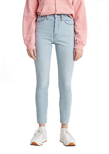 Levi's Women's Wedgie Skinny Jeans, Opal Shimmer, 24 (US 00)