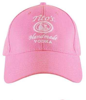 Tito's Vodka Ladies Pink Hat ()