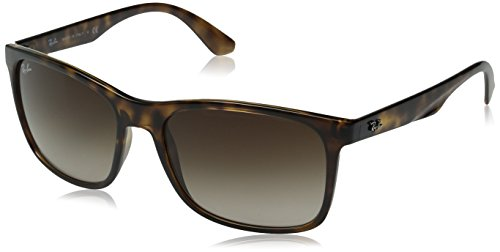 Ray-Ban INJECTED MAN SUNGLASS - HAVANA Frame BROWN GRADIENT Lenses 57mm - Ban Optical Liteforce Ray