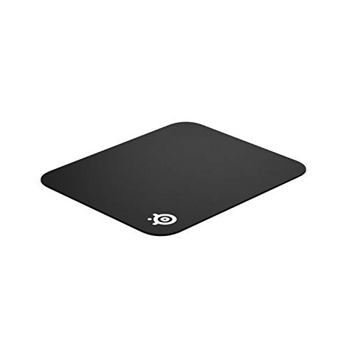 Mouse Computer Pad Black (SteelSeries QcK Gaming Surface - Small Cloth - Best Selling Mouse Pad of All Time - Optimized For Gaming Sensors)