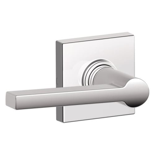 Schlage J10SOL625COL Solstice Passage Door Lever Set with Decorative Colton Trim from The J-Series ()