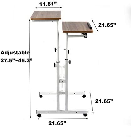 SIDUCAL Mobile Stand Up Desk