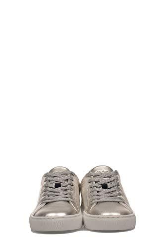 Cuero 25101pp126 London Mujer Plata Crime Zapatillas Yp7wIAq
