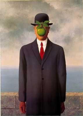 Son Of Man By Rene Magritte Highest Quality Art Print Poster