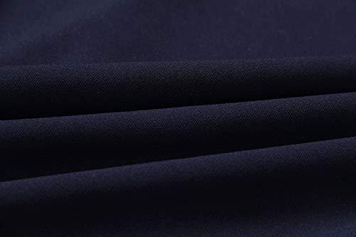 Lotus Mini de de Cuello Paquete Cadera Cóctel Primavera Redondo Vestido Vestidos la Otoño de Vestido Lado de Hoja Partido Mujer Apretado Moda Sexy Cuerno Manga Fiesta q8Fq0wp